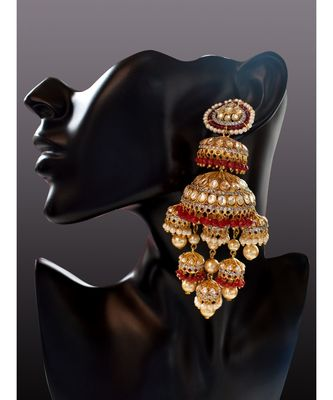 Statement Bridal Kalire Jhumka