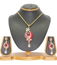 Pink pendants