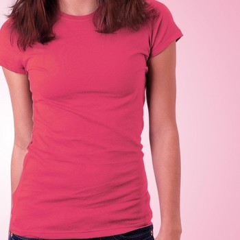 Girls Plain T-shirt at Offer, Womens T shirt now at Low Price