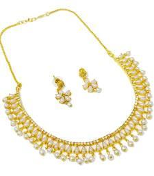 White ruby necklace-sets