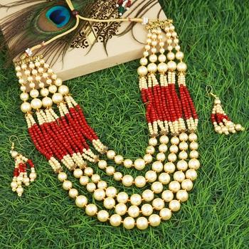 Multicolor mother of pearl designer-jewellery