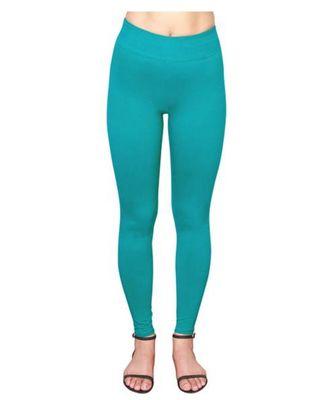 Aqua Blue  ankle length premium shapewear leggings for ladies & girls