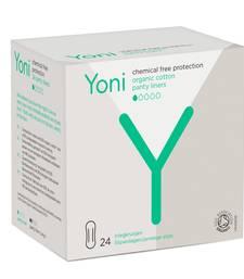 Yoni Organic Cotton Biodegradable 24 Pieces Panty Liners  (Regular)