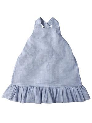 Multicolor printed cotton girls-dresses