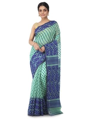 multicolor hand woven cotton jamdani sarees