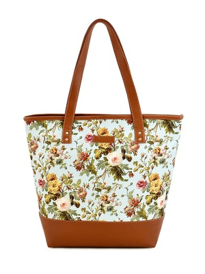 Lychee Bags Floral Printed Womens Tote Bags