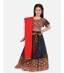 Leheriya Half Sleeve Chaniya Choli