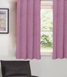 Plain Solid Blackout PURPLE Window Curtain