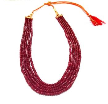 Designer Ruby Colour  Strand