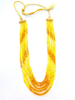 Yellow Sapphire Look Shaded Strand