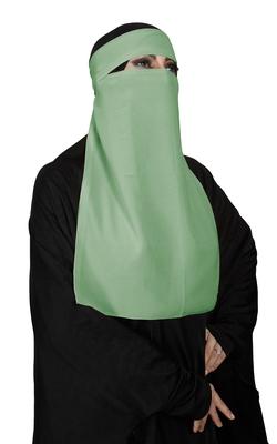 JSDC Women's Bubble Georgette Daily Wear Single Layer Parda Niqab