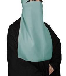 JSDC Bubble Georgette Single Layer Niqab Hijab For Women