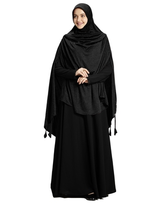 Mehar Hijab Women's Stylish hijab Ulema Drip Drop