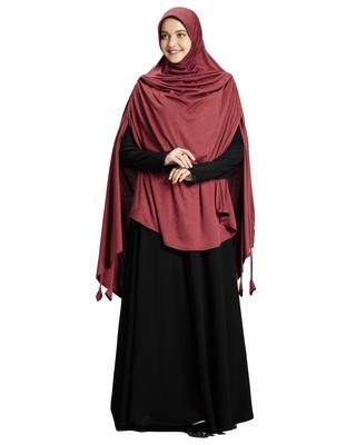 Mehar Hijab Women's Stylish Ulema Drip Drop Hijab