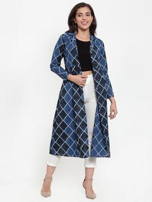 Indibelle Blue printed cotton cotton-tops