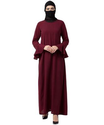 Musheco Abaya With Bell Sleeves