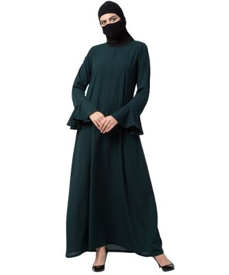 Musheco Abaya With Bell Sleeves