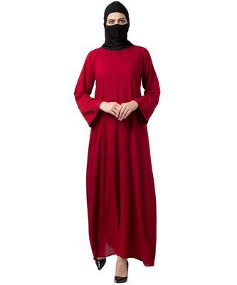 Musheco Rayon Cotton Abaya