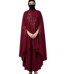 Musheco Irani Kaftan With Chikan Embroidery