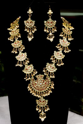 Multicolor onyx necklace-sets