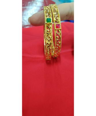 Gold studded jewellery bangles-and-bracelets