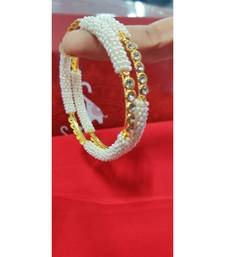 Gold beaded jewellery bangles-and-bracelets
