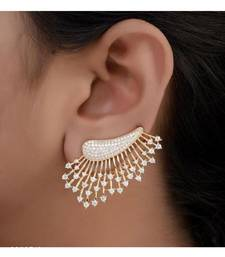 Silver american diamonds Earrings