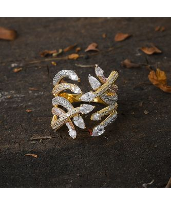 classy designer stylish adjustable diamond ring