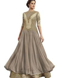 Chiku Designer Wedding Heavy Work Gown style Salwar kameez With Dupatta