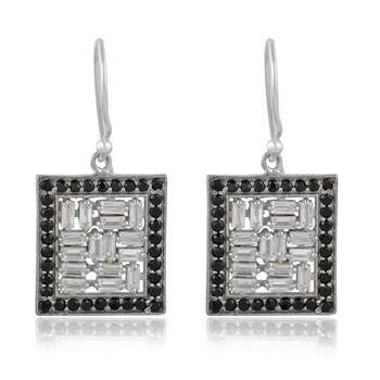 Multicolor spinel 925-sterling-silver-earrings