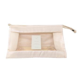 Shree Shyam Product Set of 1 Pc White Nylon Bag Organizer, Polyester Bag Organizer, Handbag Organizer