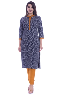 18 FOREVER V R FOR U Women Kurta and Pant Set Rayon