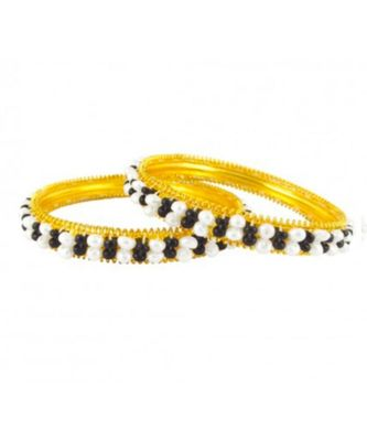 black pearl bangles