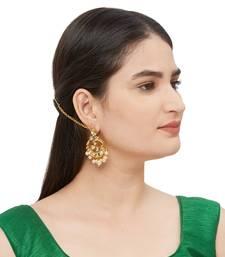 Gold Kundan Earrings