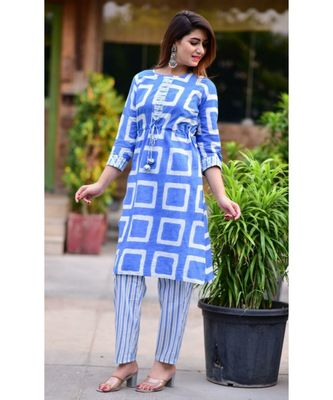 Women's Rayon Kurti  with pant have gotta work