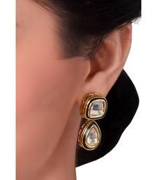 CLASSIC KUNDAN EARRING