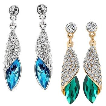 Multicolor combo-earrings