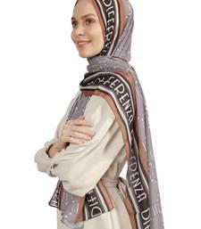 Women's Bsy Magic Fabric Occasion Wear Printed Scarf Hijab Dupatta