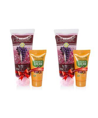 Aryanveda Herbals Wine Face Wash 110ml (Pack of 2)