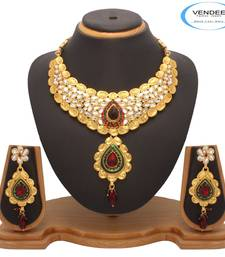 Buy Vendee Trendy Fashion Necklace Jewelry (7206) necklace-set online