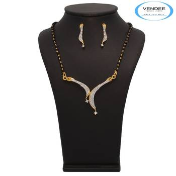 Vendee Fashion Fabulous Mangalsutra Pendant Set (7215)