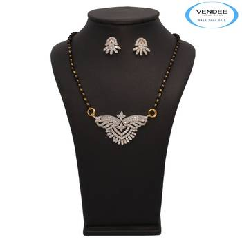 Vendee Fashion New Collection Of Mangalsutra Pendant Set (7221)