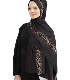 JSDC Women Bubble Georgette Animal Printed Scarf Hijab