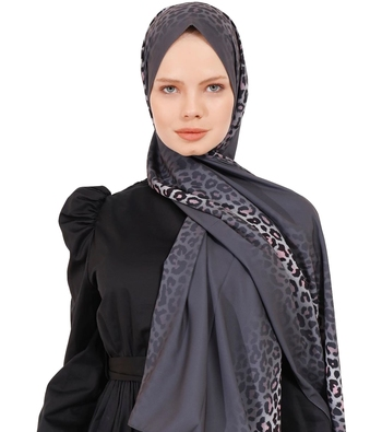 JSDC Animal Printed Women Georgette Scarf Hijab For Daily Wear
