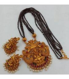 Black Gold Plated Mangalsutra