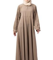 MRC Women A-Line Pint-ex Abaya with Hijab