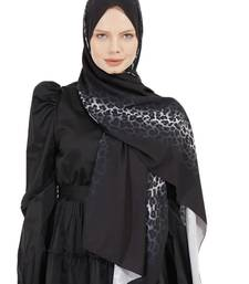 JSDC Daily Wear Printed Bubble Georgette Scarf Hijab For Women