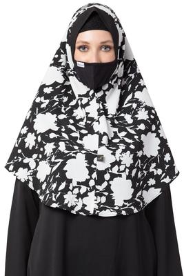 1 Hijab:: 1 Cap:: 1 Mask