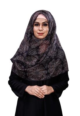 Women's Occasion Wear Printed BSY Magic Fabric Scarf Hijab Dupatta