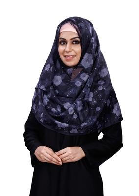 JSDC Women Printed BSY Magic Scarf Hijab Dupatta